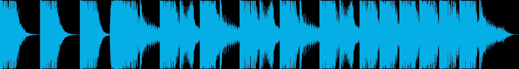 打楽器 BPM=106の再生済みの波形