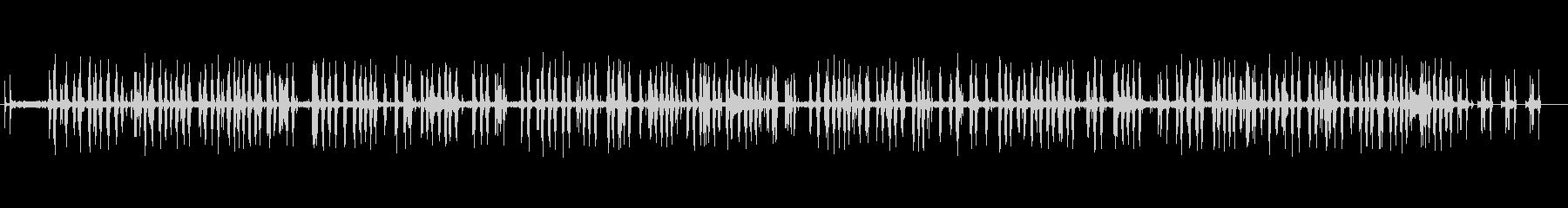 モダンエレクトリックタイプライター...の未再生の波形