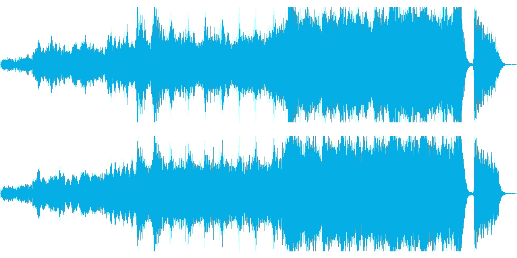 感動が最高潮に達するハイブリッドなオケ4の再生済みの波形