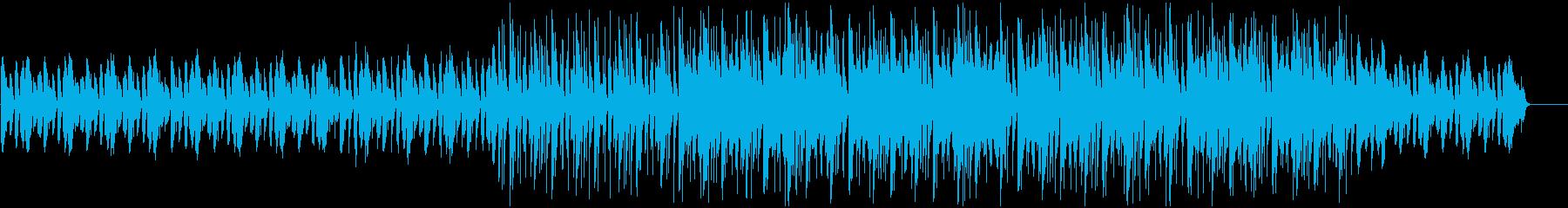 不思議な雰囲気を放つヴィブラフォンの再生済みの波形