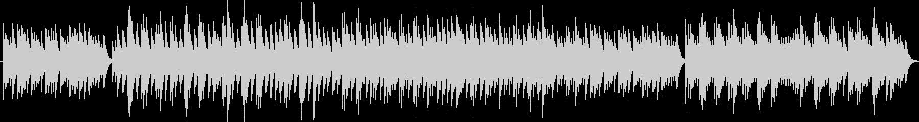 アメイジンググレイス(オルゴール)の未再生の波形