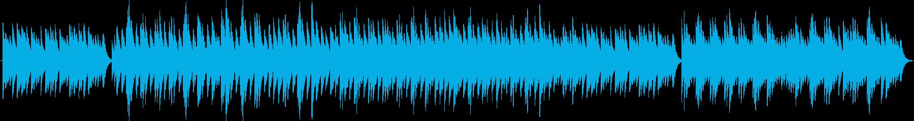 アメイジンググレイス(オルゴール)の再生済みの波形