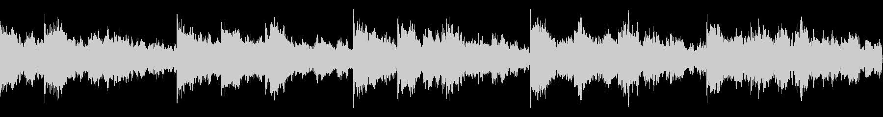 ループ素材_無機質・ホラーの未再生の波形