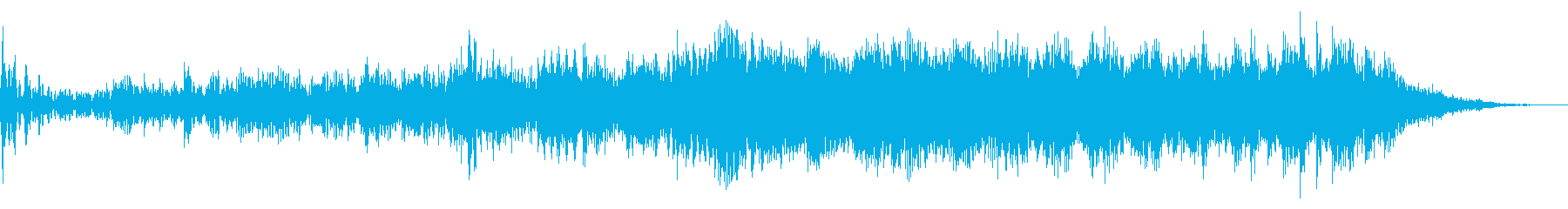 Space Fx:R2スマッシャーの再生済みの波形