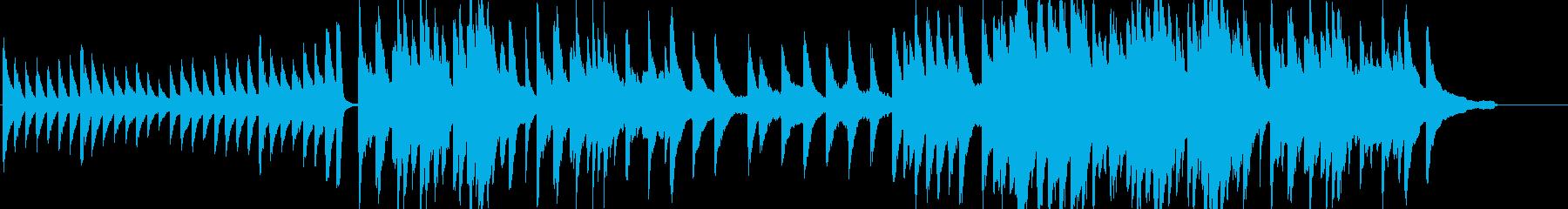 エンディング、最終回などに最適のピアノ曲の再生済みの波形