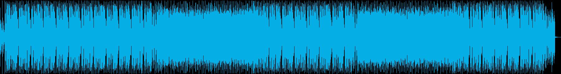 ファンク・ディスコ・ノリノリ・踊りの再生済みの波形