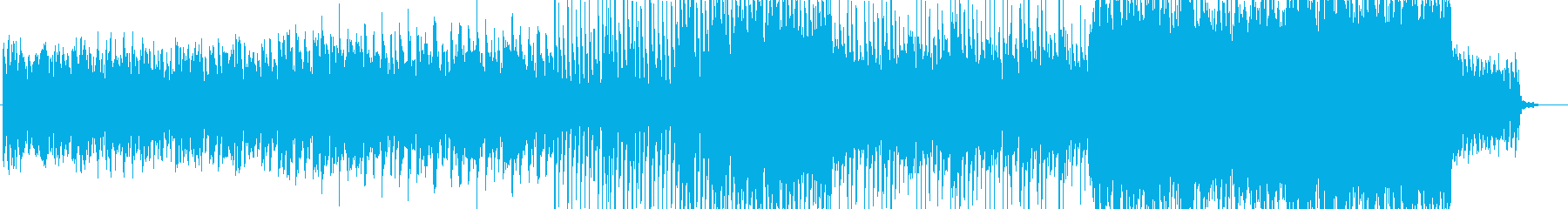 優しく切ないストリングス曲の再生済みの波形