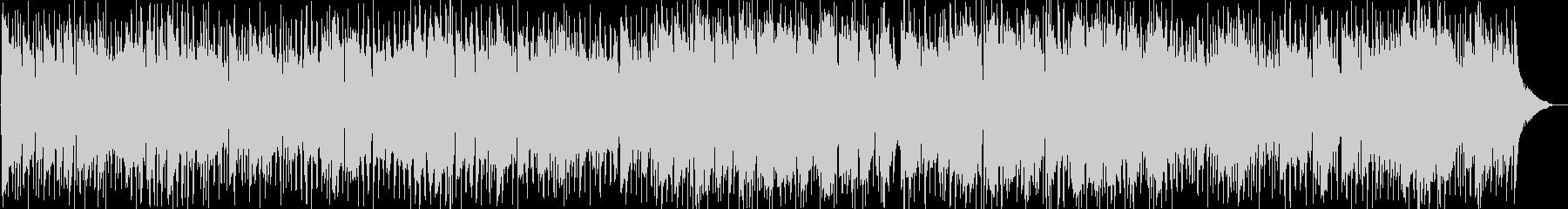 ブルージーなロックバラードの未再生の波形