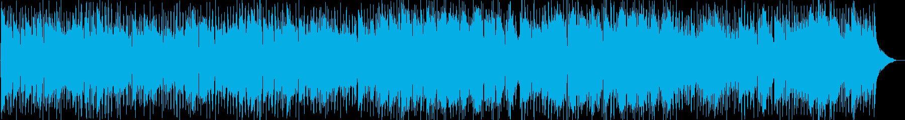 ブルージーなロックバラードの再生済みの波形