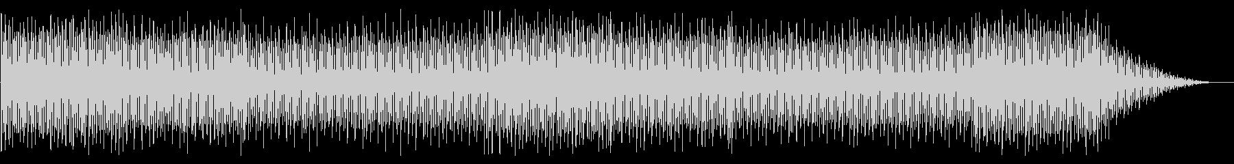 キラキラな明るいハウス系4つ打ちBGMの未再生の波形