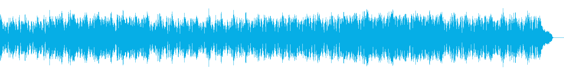 オシャレなボサノバ・カフェミュージックの再生済みの波形
