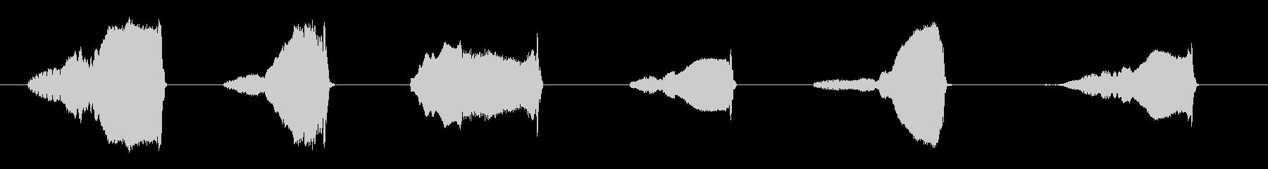 ラージオックスムーイングの未再生の波形