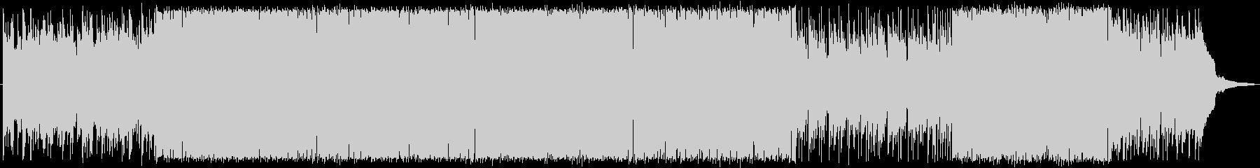 ゲームのエンドロールにぴったりの曲の未再生の波形