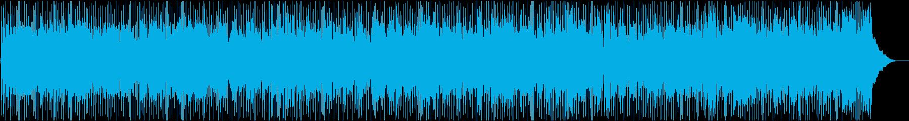 かっこいい疾走感のカントリー アクティブの再生済みの波形
