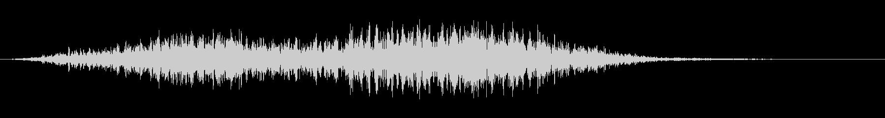 ダークジェットフーシュ5の未再生の波形