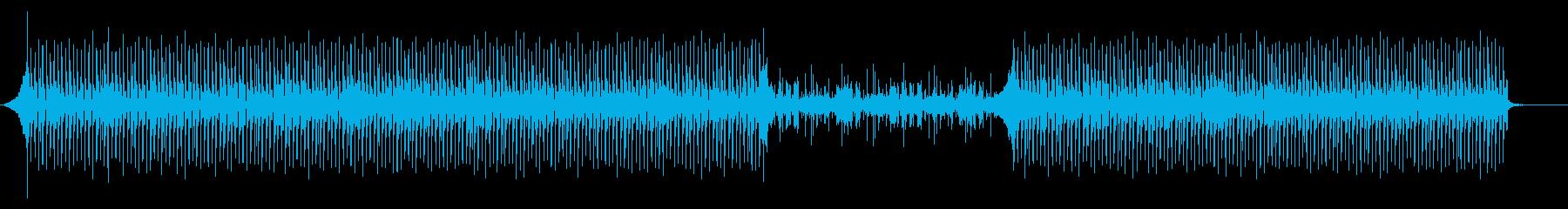 YouTubeエンティング、楽しい・軽快の再生済みの波形
