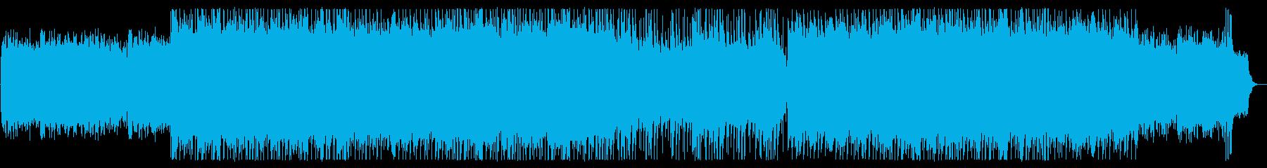 和楽器による心地よいポップスの再生済みの波形