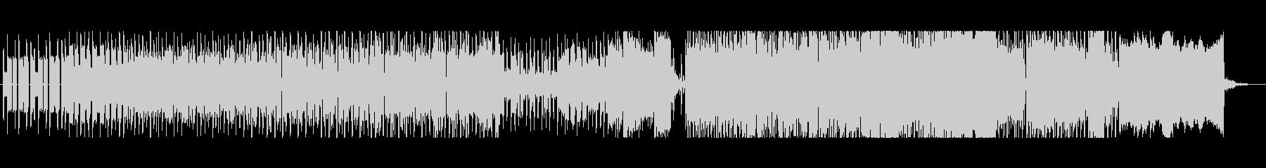 メガドライブ音源 明るく軽快なBGMの未再生の波形