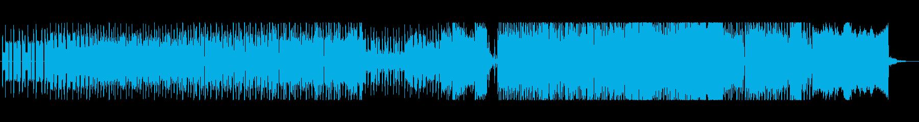 メガドライブ音源 明るく軽快なBGMの再生済みの波形