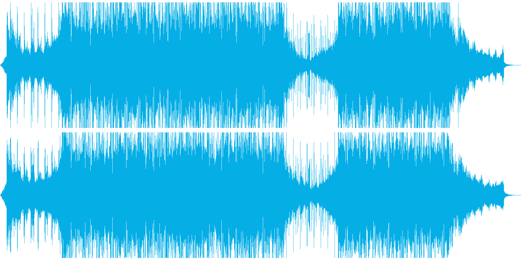 ダブステップ 実験的な フューチャ...の再生済みの波形