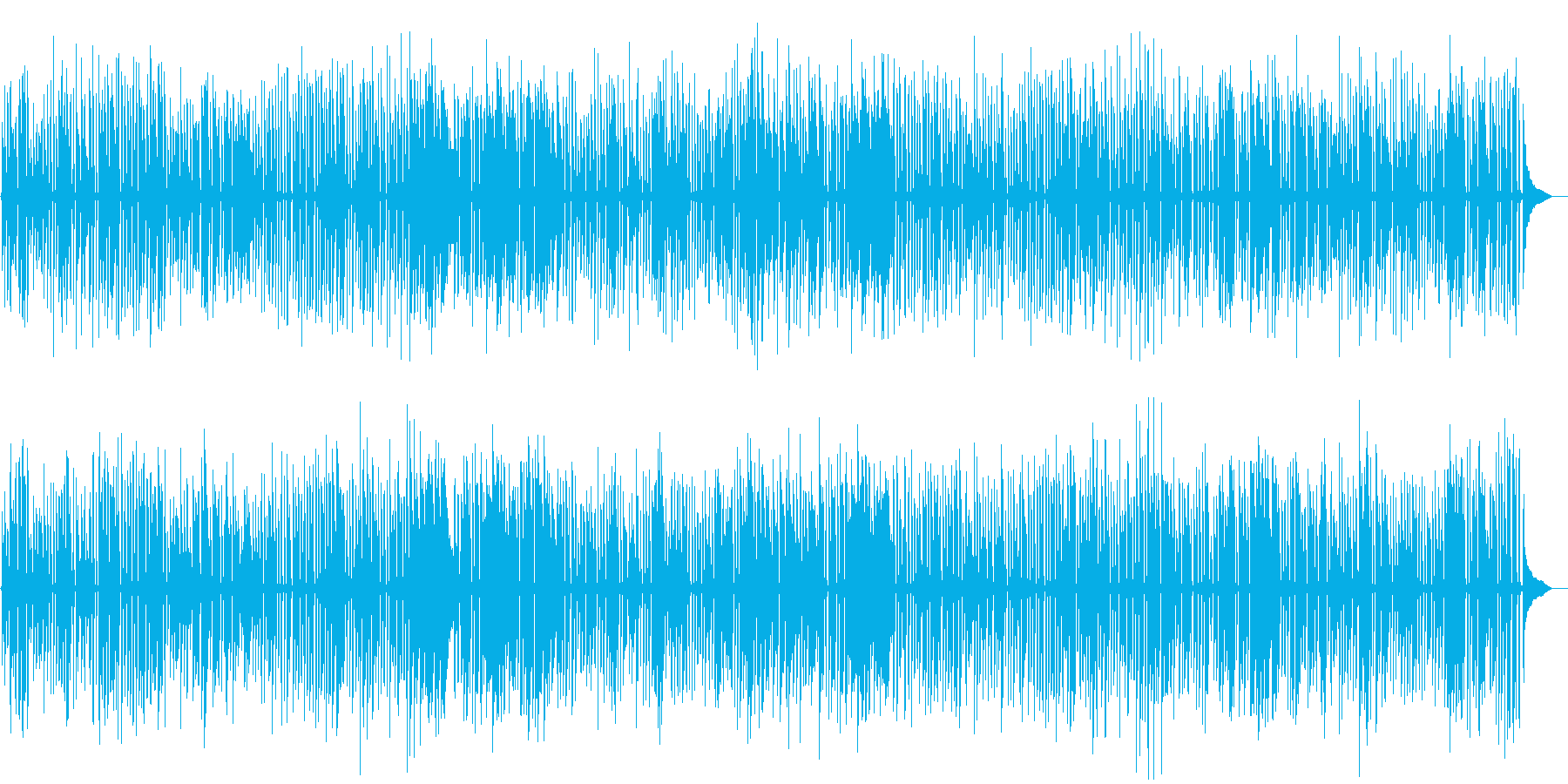 YouTube、おしゃれソロピアノジャズの再生済みの波形