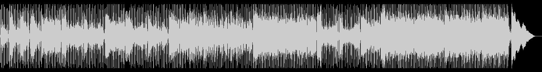 軽快なエレクトリック・ブルースの未再生の波形