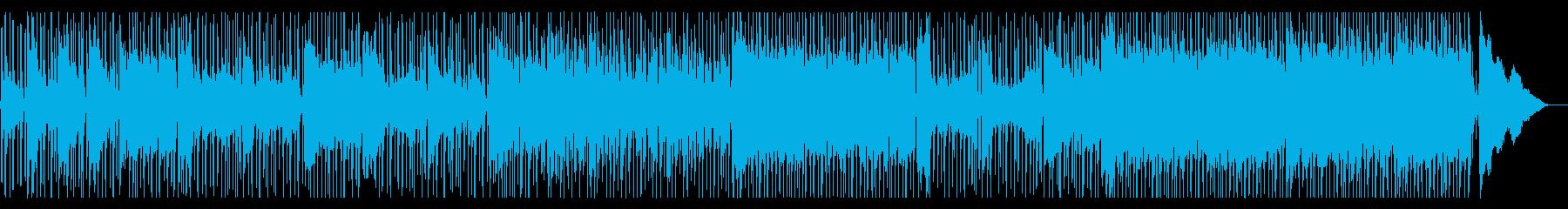 軽快なエレクトリック・ブルースの再生済みの波形