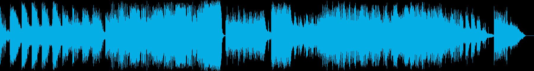 日本的なインストの再生済みの波形