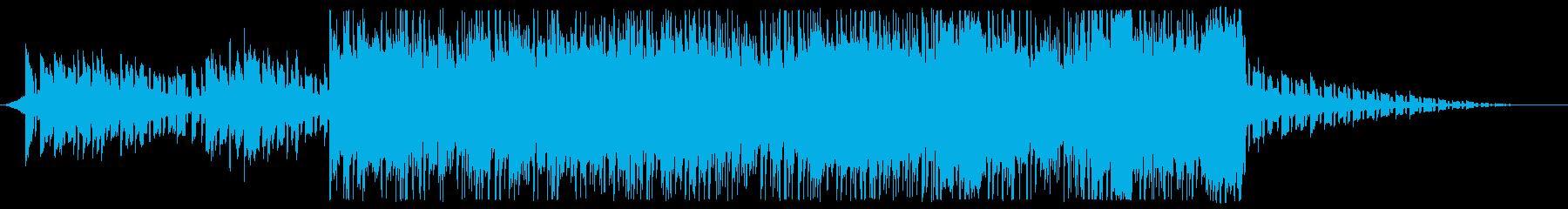 モダン テクノ 実験的 アクティブ...の再生済みの波形