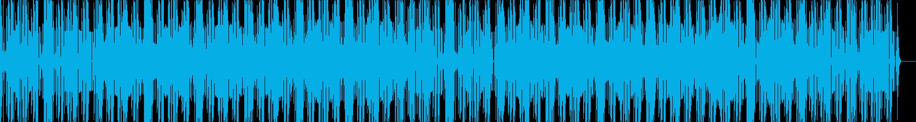スタイリッシュお洒落なフューチャーベースの再生済みの波形