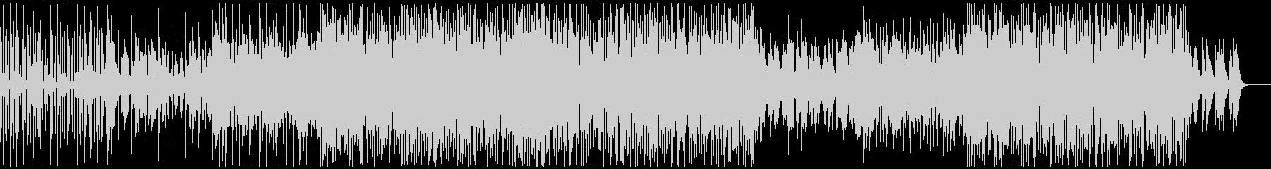 ハウスミュージック1の未再生の波形