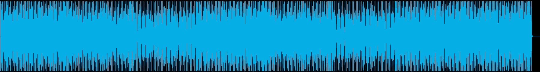 明るいアフロビート ダンスホールレゲエの再生済みの波形