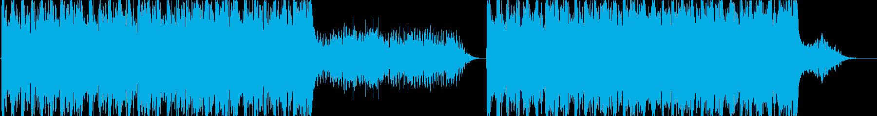 幻想的で雄大なストリングス-短縮版-の再生済みの波形