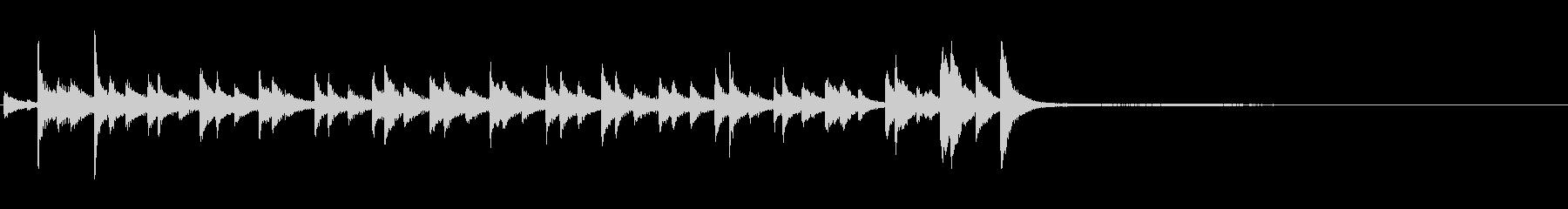 アイアントライアングルディナーベル...の未再生の波形