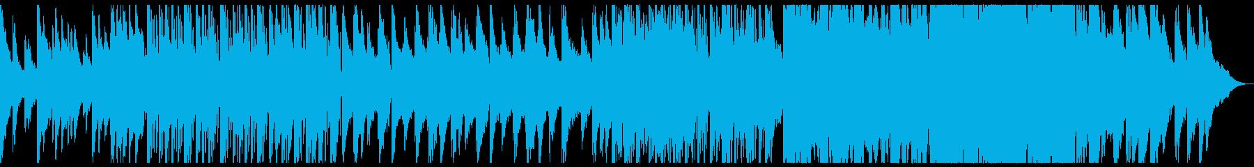グリッチ 海 七里ヶ浜 エレクトロニカの再生済みの波形