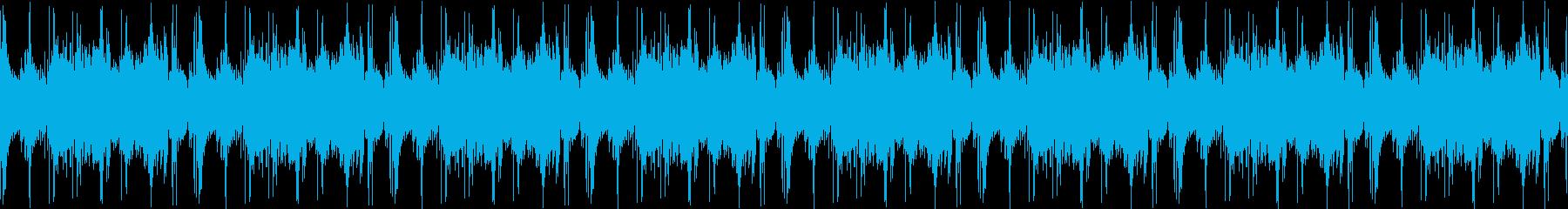 近未来的システム系BGSの再生済みの波形