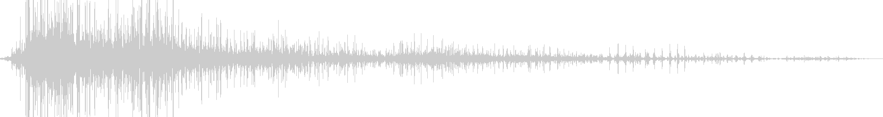 ピジョングループウィングフラップステディの未再生の波形