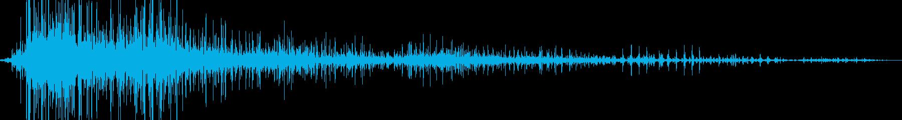 ピジョングループウィングフラップステディの再生済みの波形