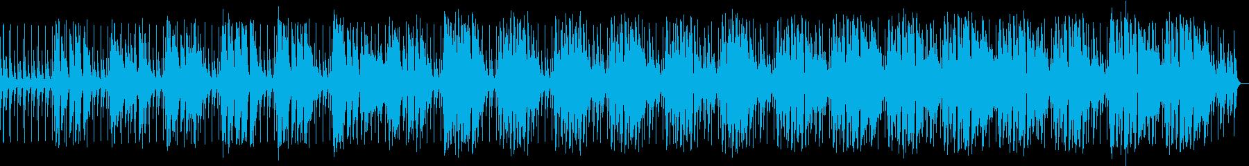 爽やかなアコースティックポップ生演奏の再生済みの波形