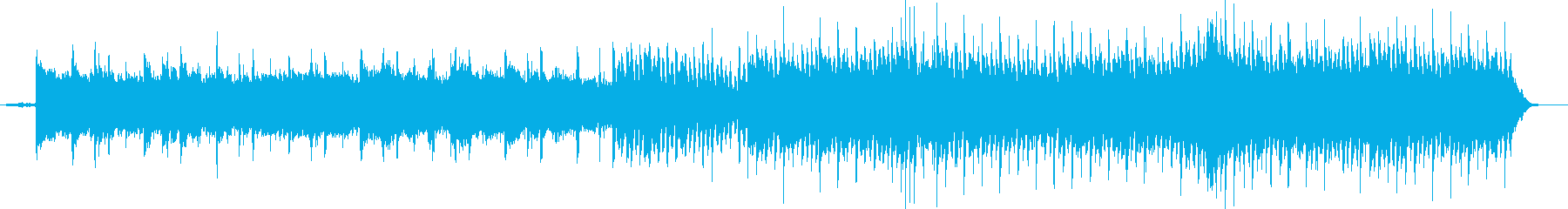 優しいストリングスのバラードの再生済みの波形