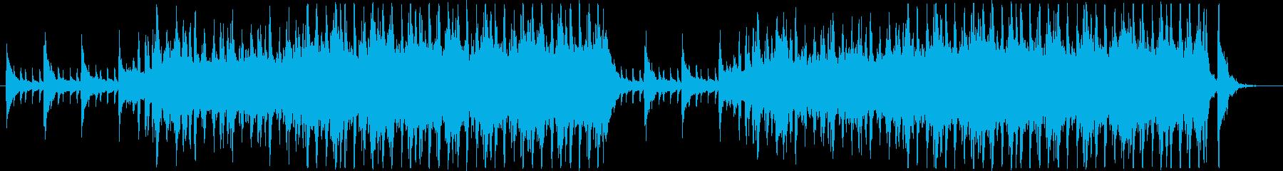 気品漂うリズム付オーケストラ曲(メロ無)の再生済みの波形