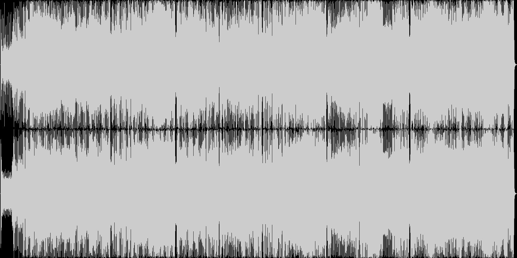 ポップでファンキーなディスコサウンドの未再生の波形