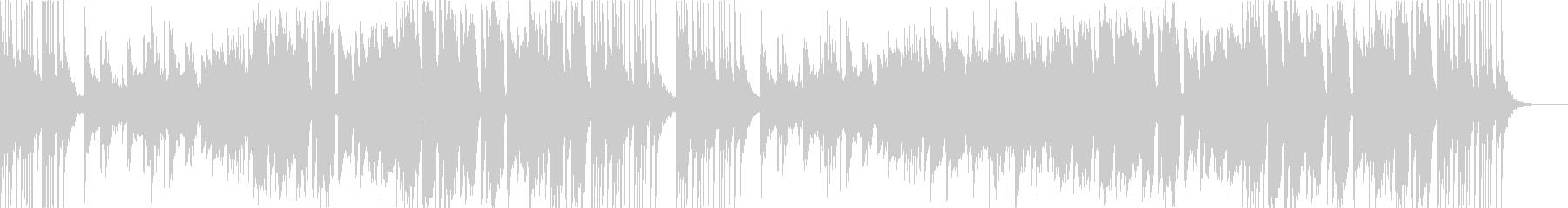 中国風BGM。二胡、木琴、ディーズなど。の未再生の波形
