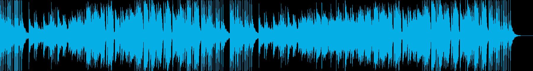 中国風BGM。二胡、木琴、ディーズなど。の再生済みの波形