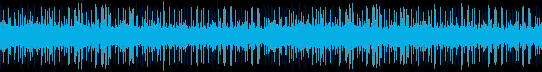 クールな雰囲気のエレクトロなループです。の再生済みの波形