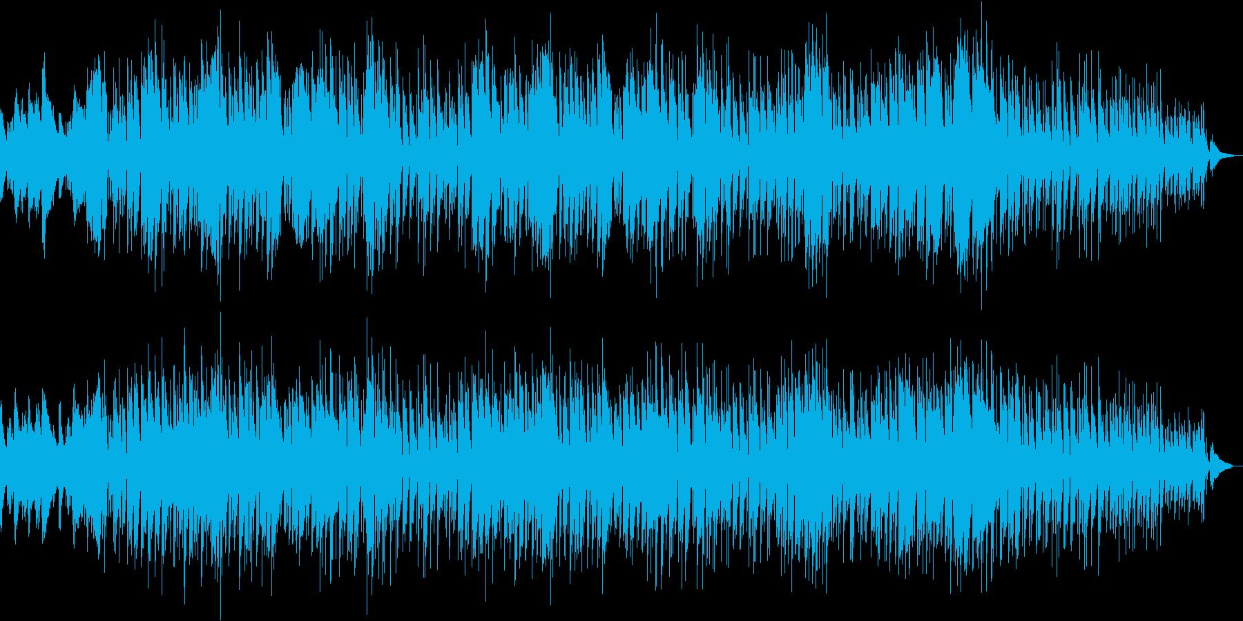 ギターでボサノバ 真夏の太平洋の再生済みの波形