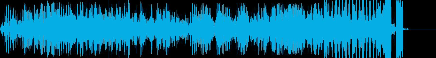 きしみ変化、機械的モーフ、ピッチド...の再生済みの波形