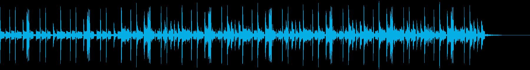 ディープでチルなEDM ヴォイス付き の再生済みの波形