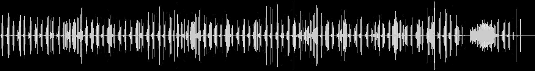 ショパン ノクターン ファミコン音の未再生の波形