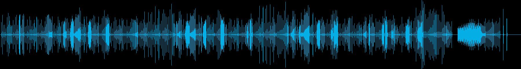 ショパン ノクターン ファミコン音の再生済みの波形
